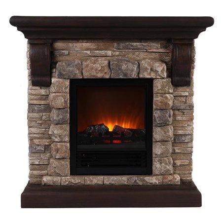 ok lighting portable electric fireplace. Black Bedroom Furniture Sets. Home Design Ideas