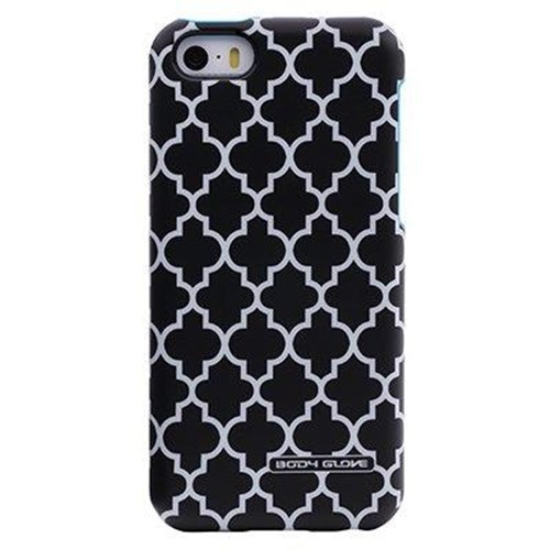 Body Glove Splash Case for Apple iPhone 5/5S (Black Pattern and Cyan)