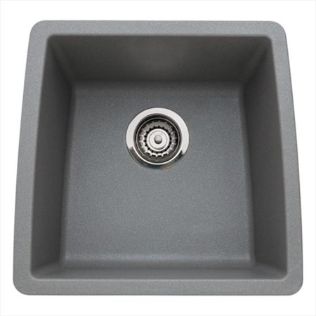 Performa Silgranit II Single Bowl Sink - Metallic Gray