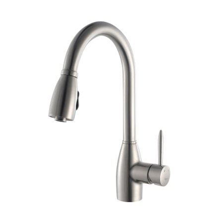 Kraus KPF-2130 Pullout Spray Kitchen Faucet with Swiveling Spout and Dual Functi