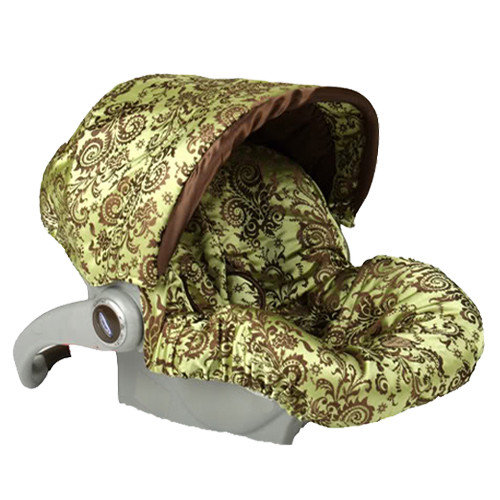 Baby Bella Maya Infant Car Seat Cover with Canopy
