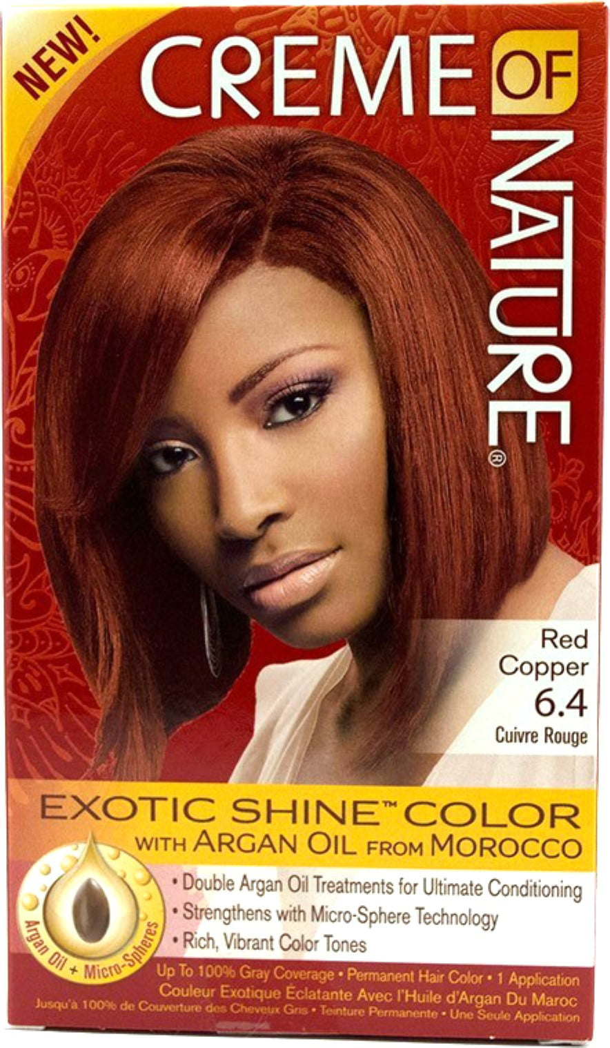 Creme Of Nature Permanent Hair Color Red Copper 64 10 Ct