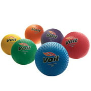 "Voit® 10"" Playground Balls, Rainbow Pack of 6"