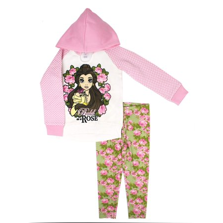 Raglan Fleece Pullover Hoodie & Legging, 2-Piece Outfit Set (Little - The Undertaker Outfit