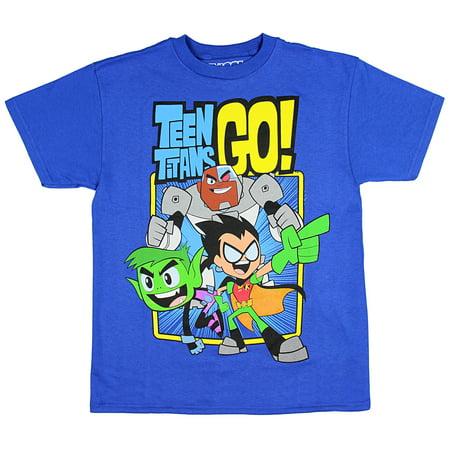 Teen Titans GO! Boys' Trio T-Shirt