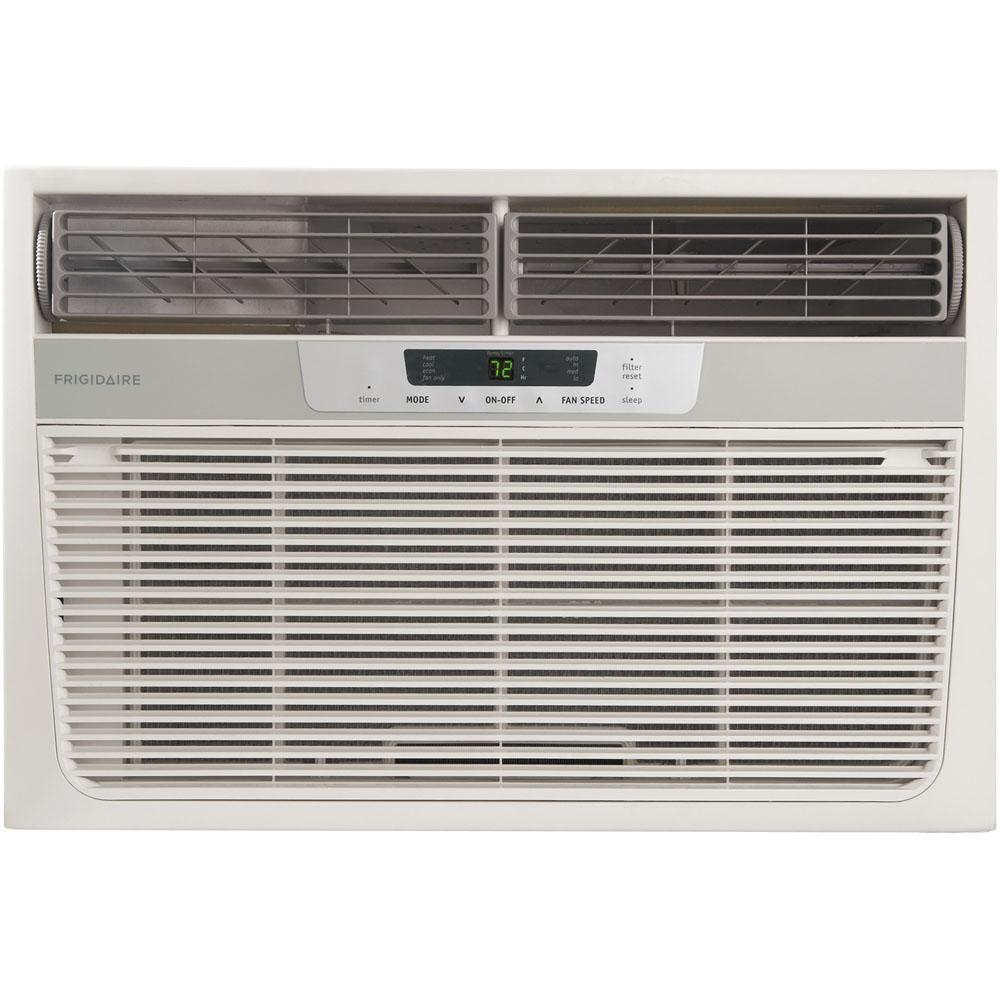 12,000 BTU Compact Air Conditioner with 11,000 BTU Supplemental Heat (230 volts)