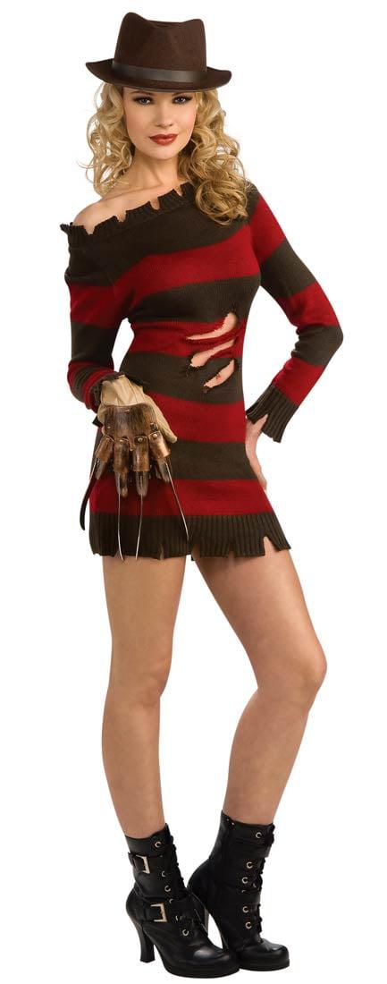Womens Sexy Freddy Krueger Costume Walmartcom