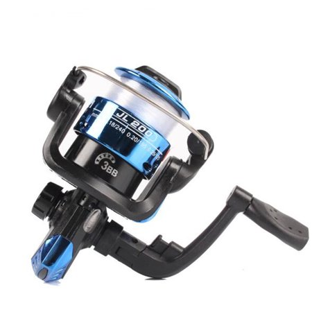 3BB Front Drag 5.2:1 Spinning Fishing Reel with 40M Fishing Line Color:Blue