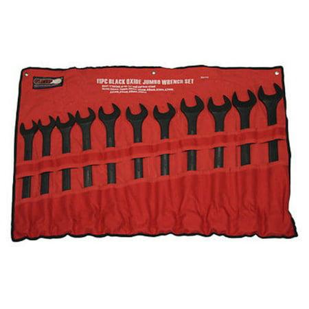 - 11pc Jumbo GRIP Metric Combo Wrench Set 34 35 36 38 40 41 42 46 48 50mm 89082