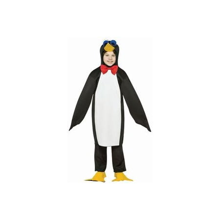 Penguin Lightweight Child Halloween Costume, One Size, (7-10) - Full Body Penguin Costume