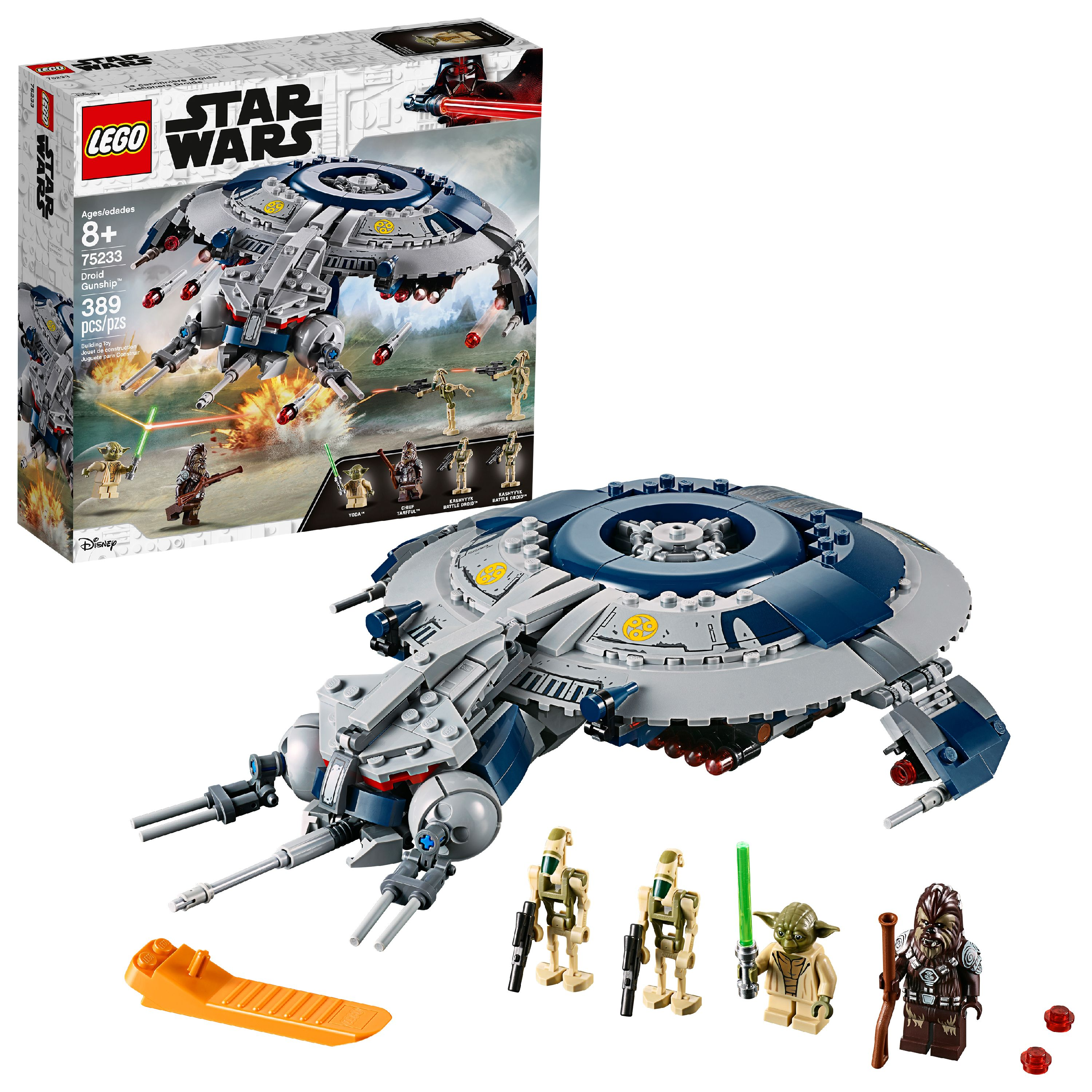 LEGO Star Wars TM Droid Gunship 75233 Building Set (329 Pieces)