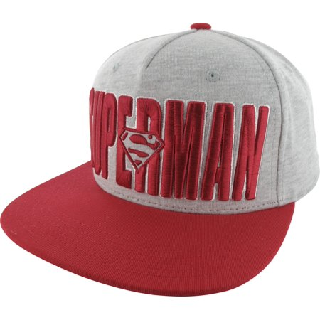 Superman Logo Name Jersey Hat ()