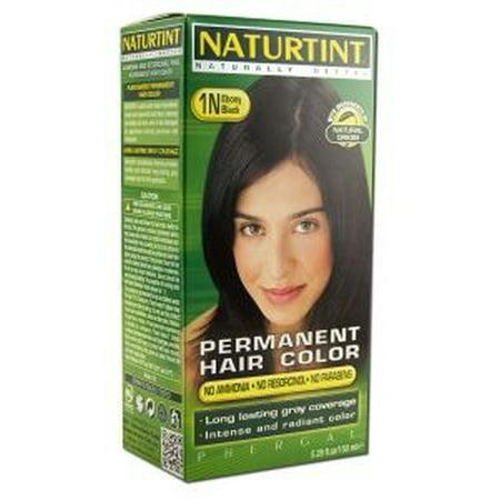 Hair Color-1N/Ebony Black Naturtint 5.28 oz Liquid ()