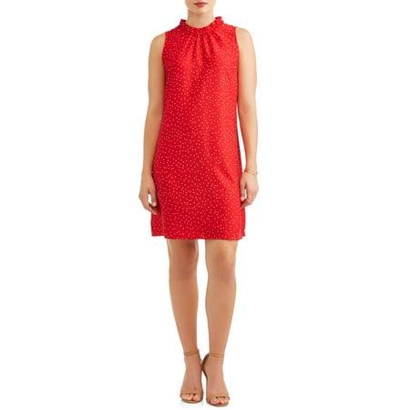 Women's Chiffon Sleeveless Dress