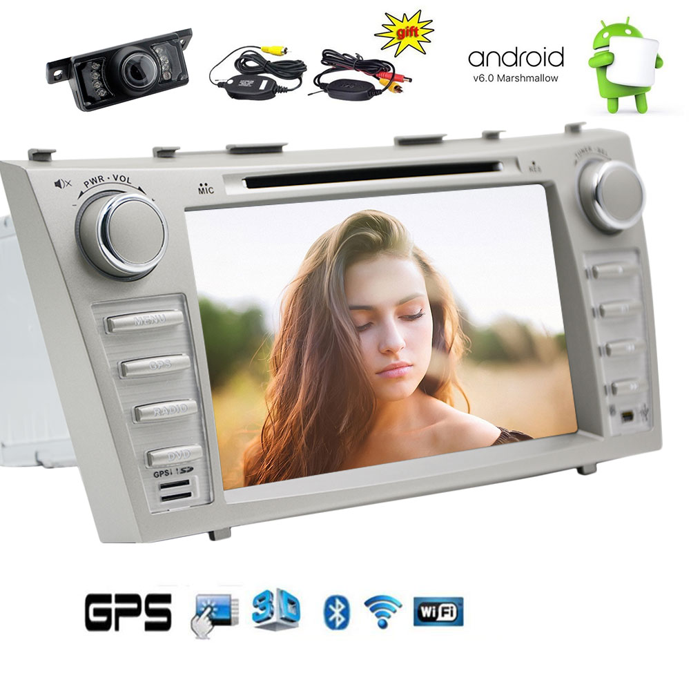 Wireless Rear Camera included! Newest Upgrade TOYOTA Camry 2007-2012 Android 6.0 Car Stereo with Touch Screen... by EinCar