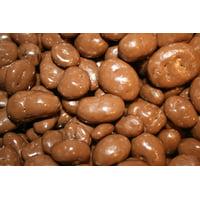 BAYSIDE CANDY MILK CHOCOLATE COVERED RAISINS, 1LB