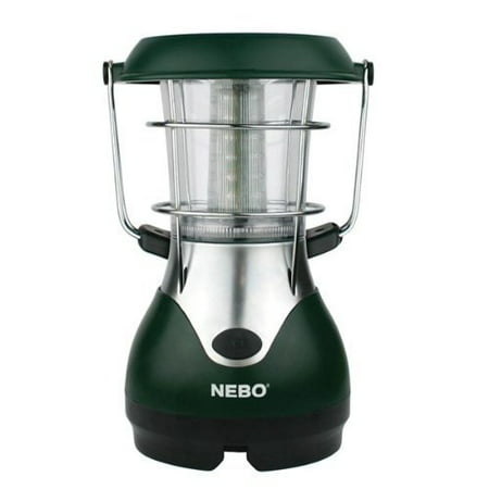 Nebo WeatherRite 5959 Eco Lantern 24 Super Bright LEDs Solar Power or Wind Up