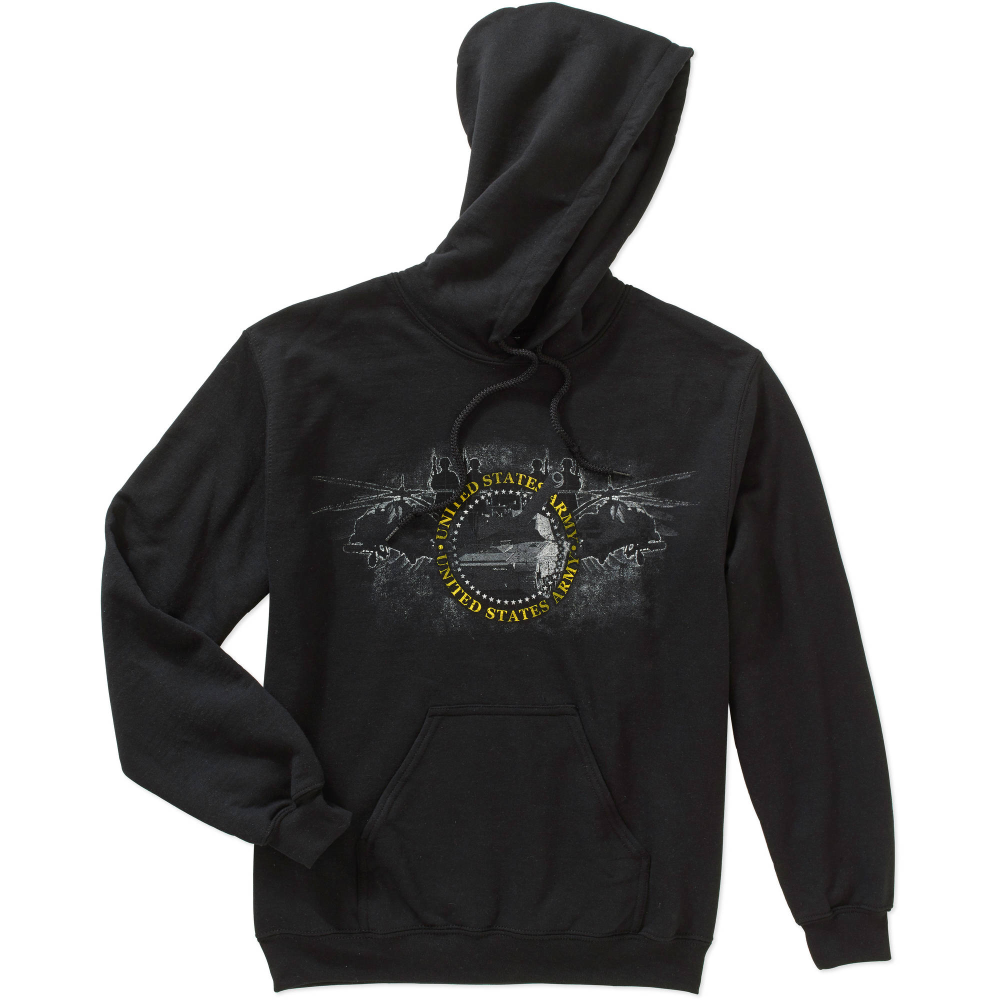 Men's Military Officially Licensed Army Fleece Action Hoodie