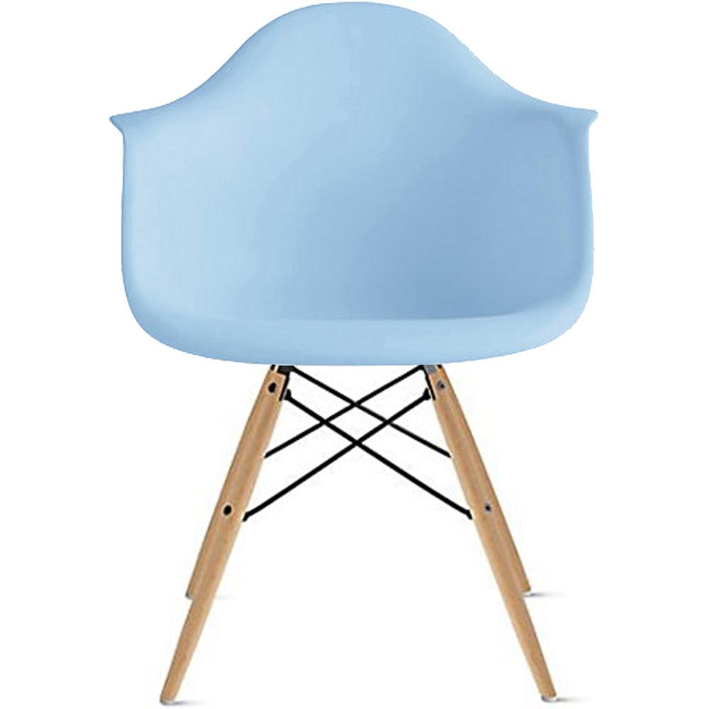 2xhome Black Mid Century Modern Plastic Dining Chair