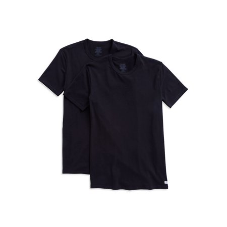 2-Pack Classic-Fit Cotton Stretch Crewneck Tees