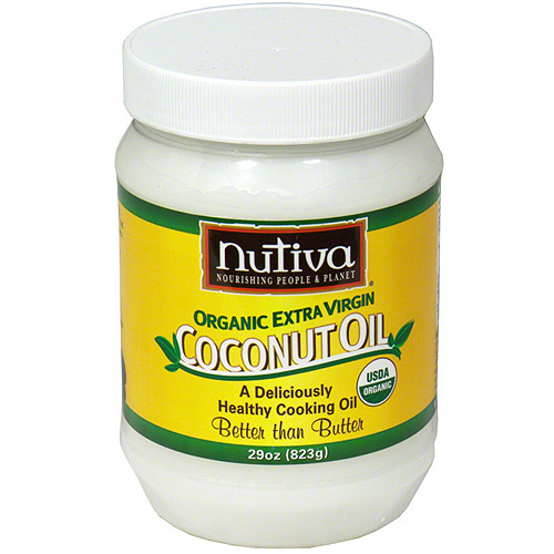 Nutiva Organic Extra Virgin Coconut Oil, 29 oz (Pack of 6)