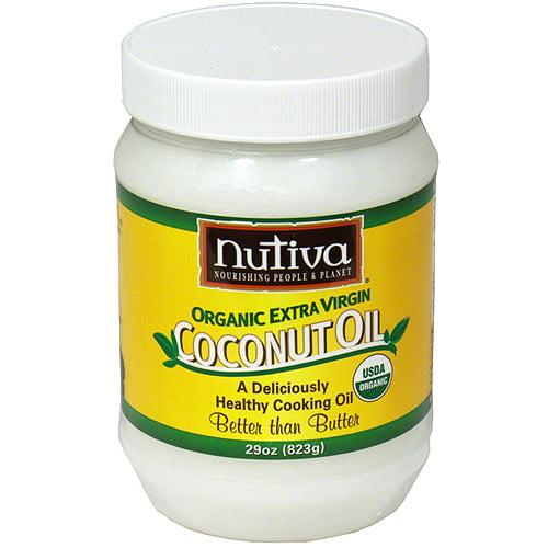 Nutiva Organic Extra Virgin Coconut Oil, 29 oz (Pack of 6)