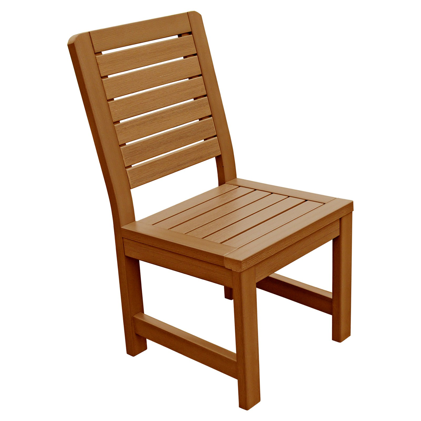 highwood® Weatherly Recycled Plastic Patio Dining Side Chair