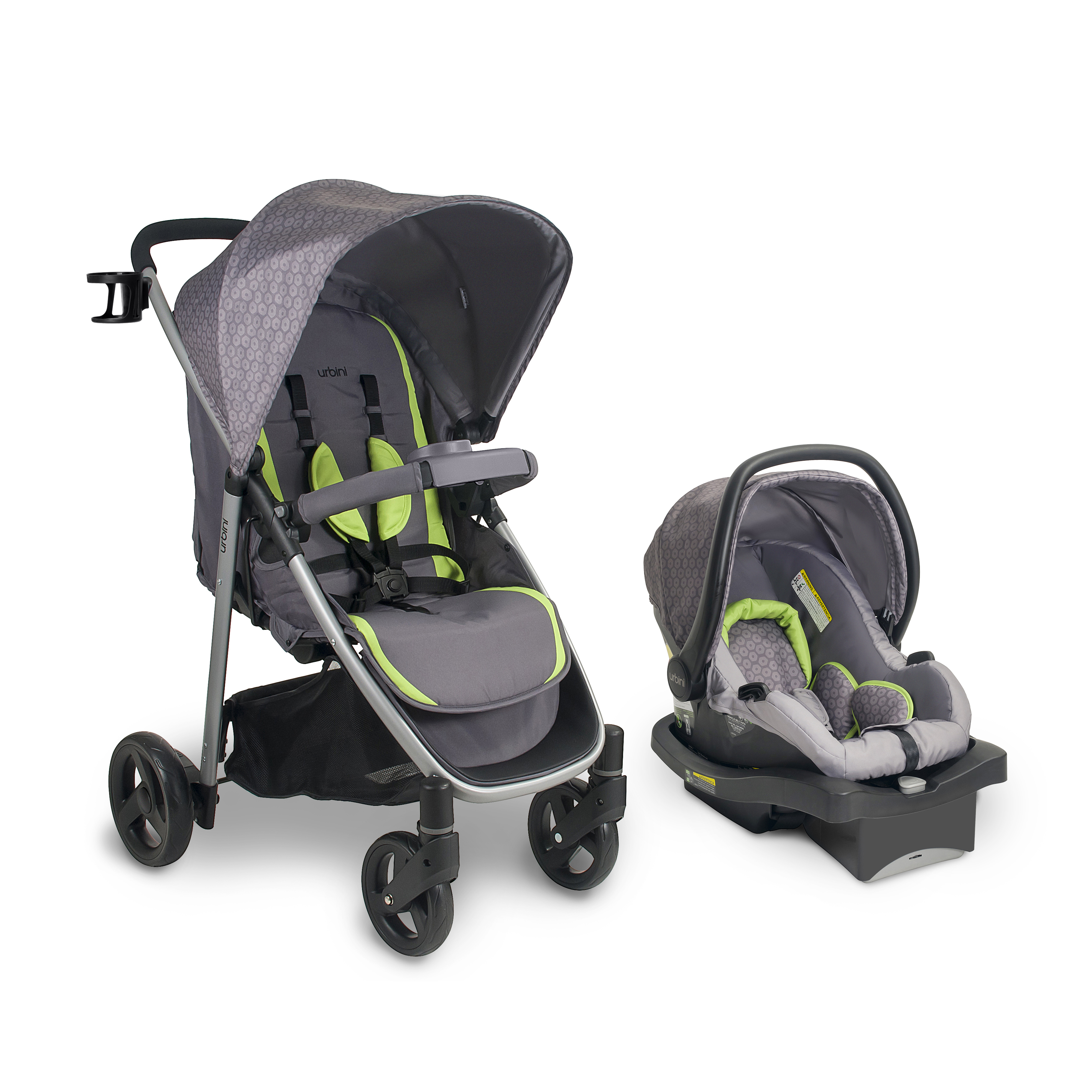Urbini Turni 3 in 1 Travel System, Clover