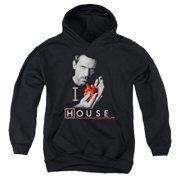 House I Heart House Big Boys Pullover Hoodie