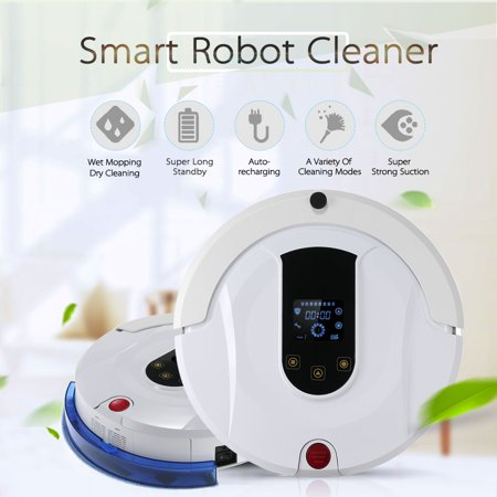 Anself Automatic Vacuum Cleaner Robotic Smart Sweeping Machine Mopping Robot With Remote Control