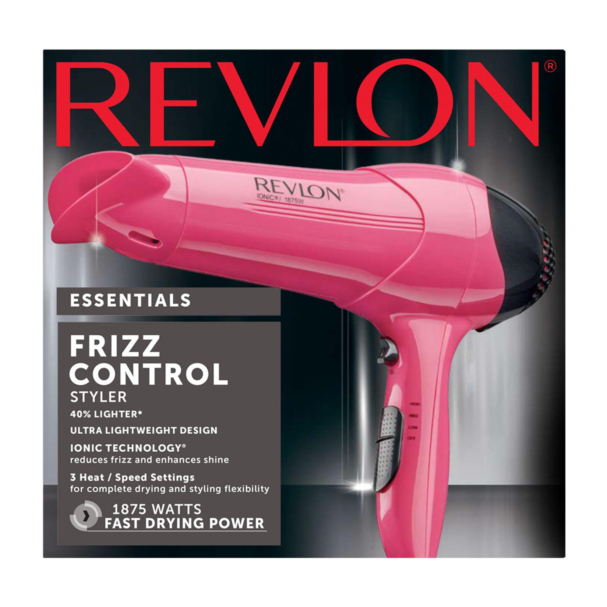 Revlon Essentials Lightweight Rv474 Light Hair Dryer Pink With