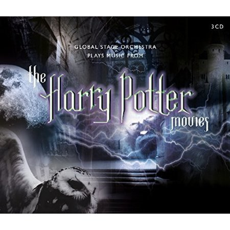 Plays Music From Harry Potter Movies (CD) - Play Halloween Soundtrack