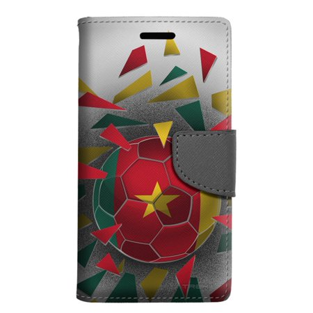 LG Rebel 2 Wallet Case - Soccer Ball Cameroon