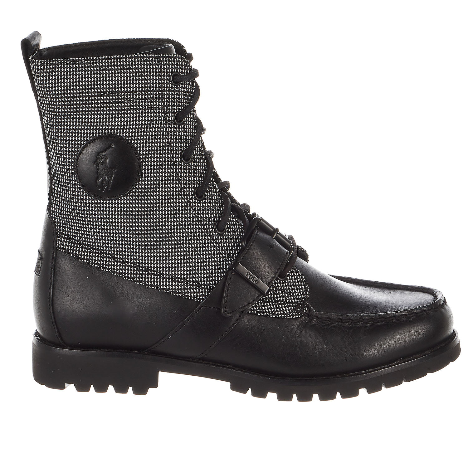 polo ralph  lauren ranger fashion botte noire / Noir  ralph -   - 8 2bdc79