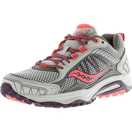 Womens Shoes Saucony Excursion TR9 Grey/Plum/Coral