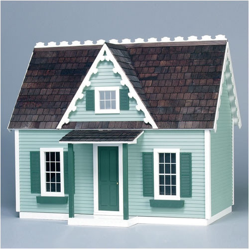 Real Good Toys Finished & Ready to Play Doll House Junior Victorian Cottage