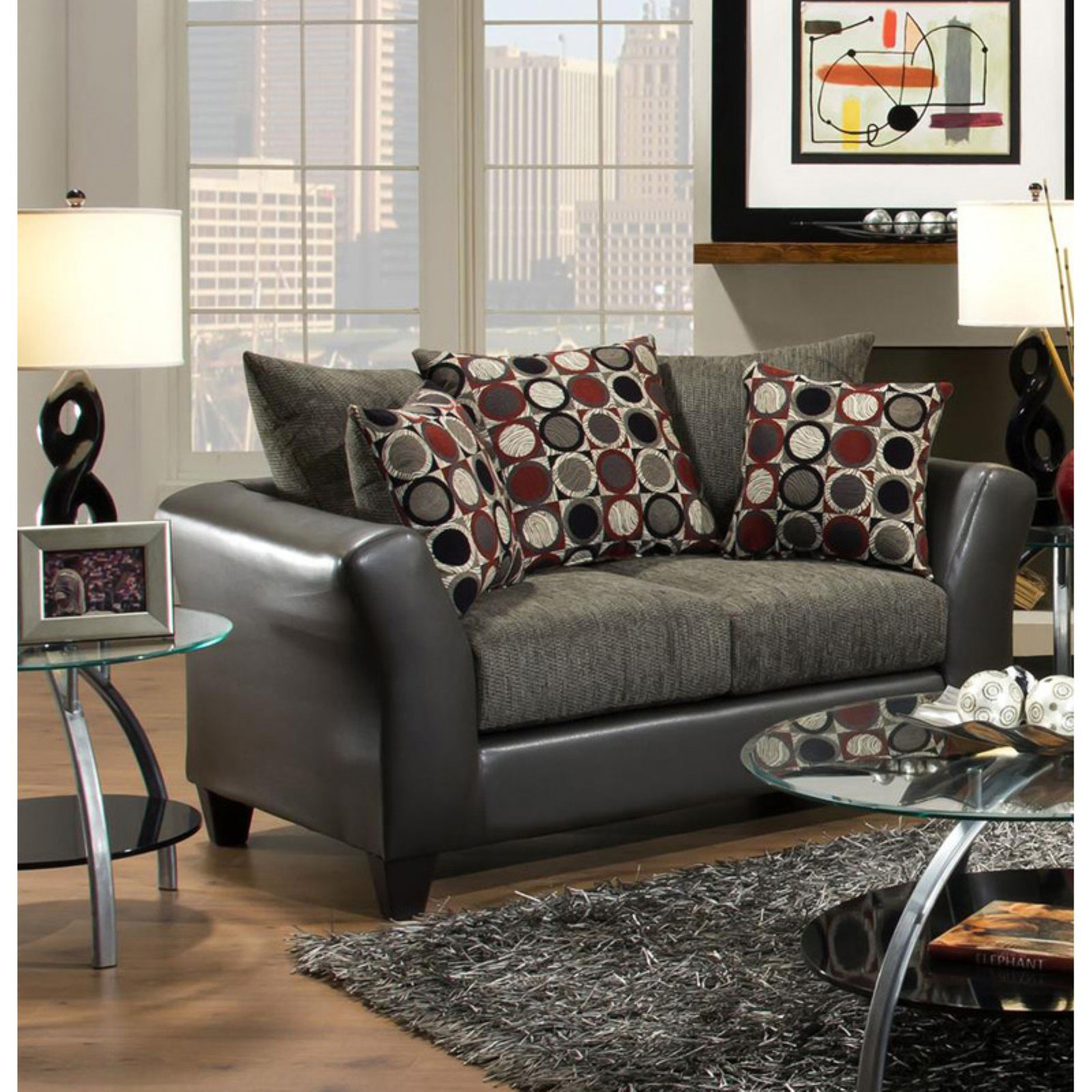 Chelsea Home Furniture Patch Loveseat