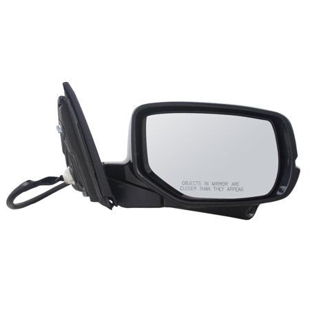 - BROCK Power Side View Mirror Heated Signal w/ Camera Passenger Replacement for 13-15 Honda Accord Coupe 76200T3LA62ZE