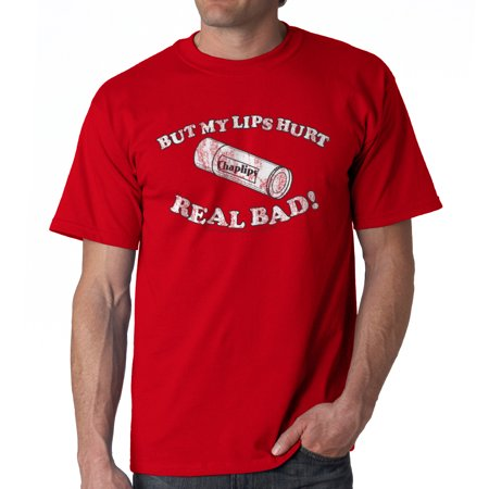 Napoleon Dynamite Lips Hurt Men's Red Funny T-shirt NEW Sizes S-2XL
