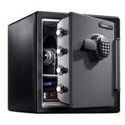 SentrySafe SFW123ES Fire-Resistant Safe and Waterproof Safe with Digital Keypad 1.23 cu ft