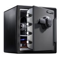 SentrySafe SFW123ES Fire-Resistant Safe and Waterproof Safe with Digital Keypad 1.23 cu. ft.
