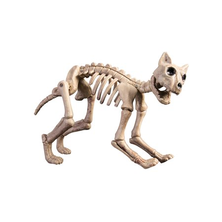 Skeleton Cat Halloween Decoration - Halloween Cat Lips