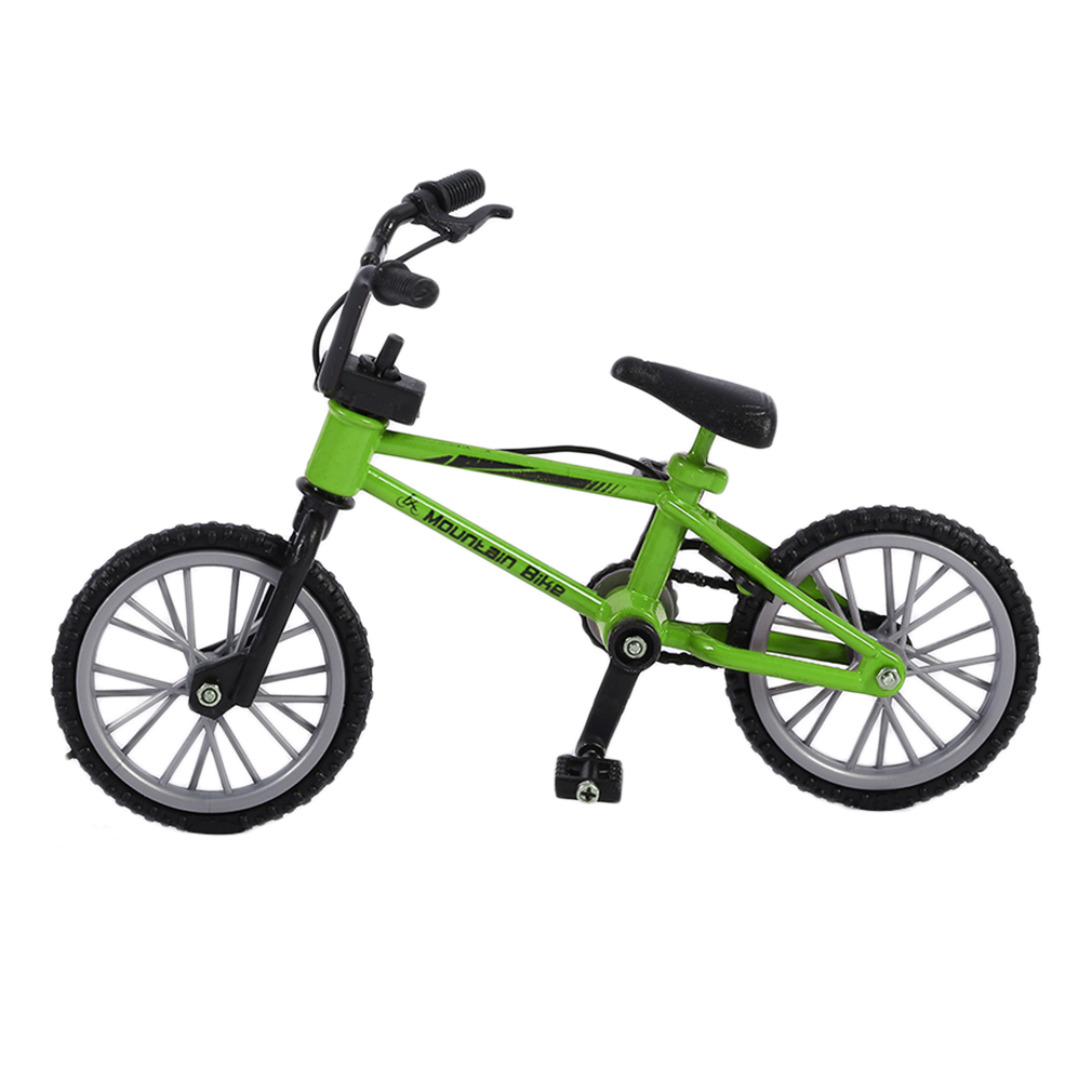 Finger Skateboarding Mini Size Simulation Alloy Finger Bike Children Kid Funnt Mini Finger Bike Toy With Brake Rope Best... by