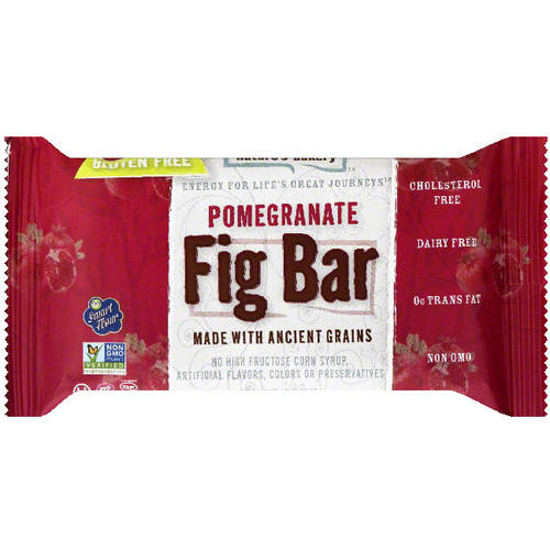 Nature's Bakery Fig Bar, Pomegranate, 1g Protein, 12 Ct
