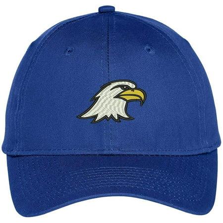 e6217e3293d Trendy Apparel Shop Eagle Head Embroidered Adjustable Baseball Cap -  Walmart.com