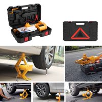 Ccdes 2Ton 12V DC Automotive Car Automatic Electric Lifting Jack Garage and Emergency Equipment,Electric Jack, Auto Electric Jack