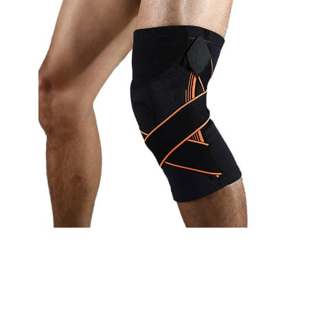 ce23e33606 NK SUPPORT 1pcs Knee Brace, Knee Compression Sleeve Support for Running,  Arthritis, Meniscus