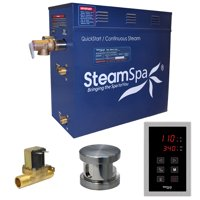 Steamspa Oat750-A Oasis 7.5 Kw Quickstart Acu-Steam Bath Generator Package With