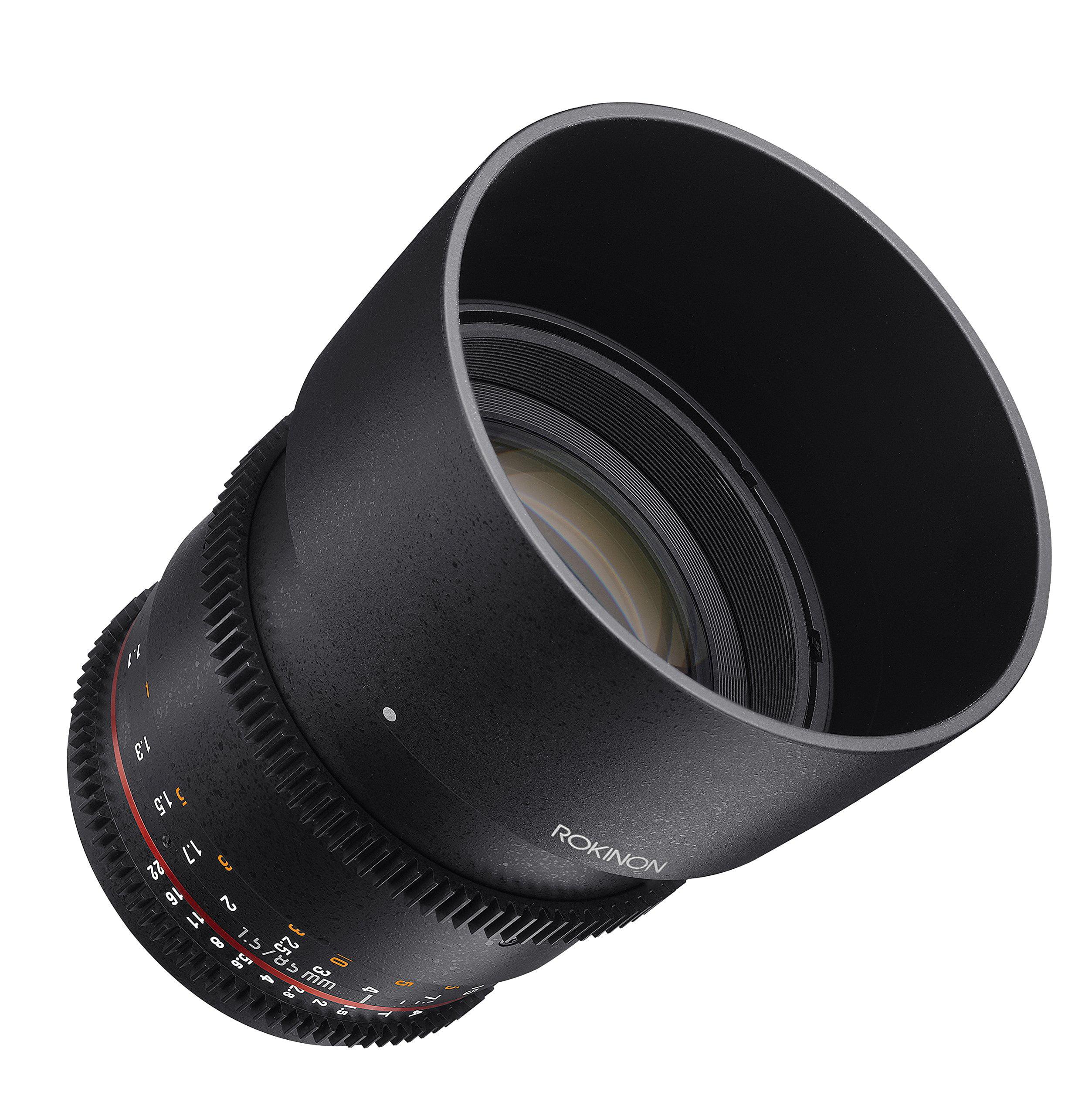 ROKINON 85mm T1.5 Cine Aspherical Lens for Micro 4/3 Cameras