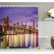 Purple Curtains Drapes Walmartcom - Purple and gold shower curtain